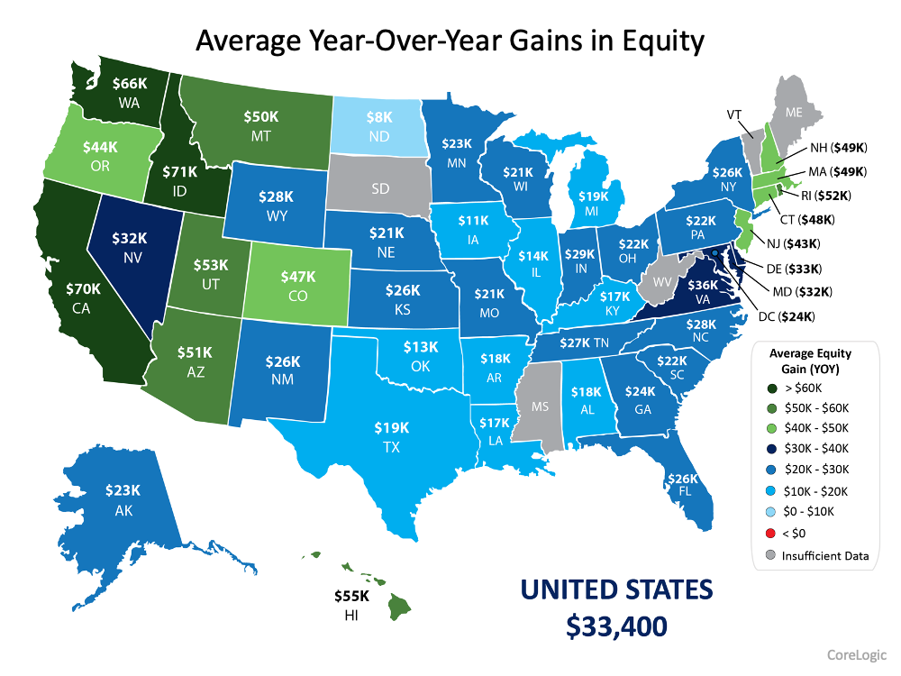 Homeowner Wealth Increases Through Growing Equity This Year | Simplifying The Market